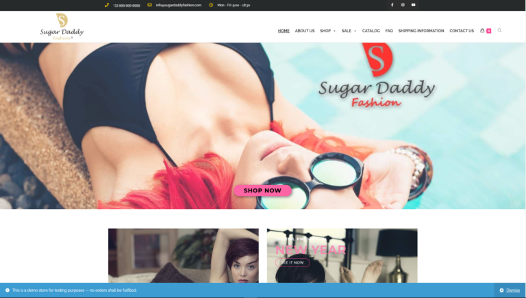 SUGAR DADDY FASHION LTD
